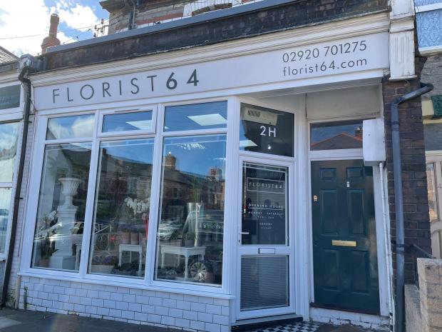 Penarth Times: Florist64, on Cornerswell Road