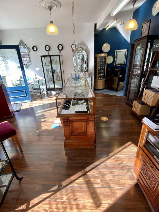 Penarth Times: Rowley's the Jewellers on Glebe Street