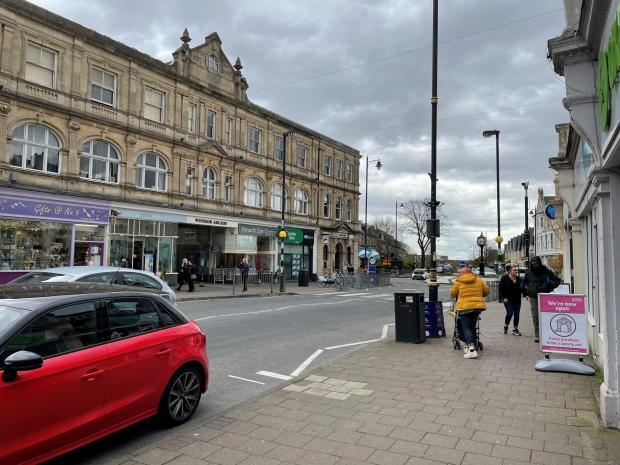 Penarth Times: The town was bustling today with shoppers
