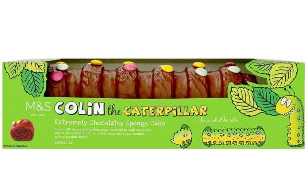 Penarth Times: Colin the Caterpillar. (M&S)