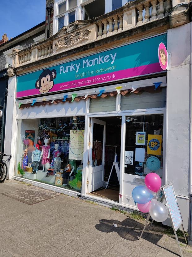 Penarth Times: Funky Monkey on Windsor Road