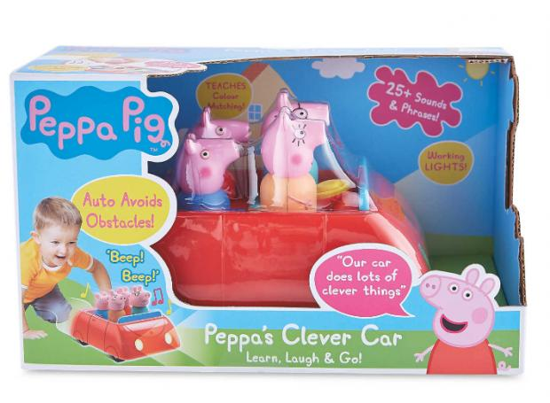 Penarth Times: Peppa Pig's Electronic Clever Car. (Aldi)