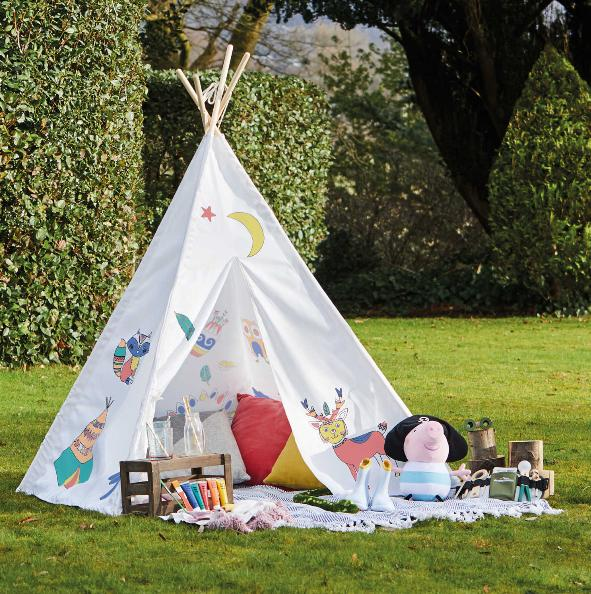 Penarth Times: Grafix Paint Your Own Teepee. (Aldi)
