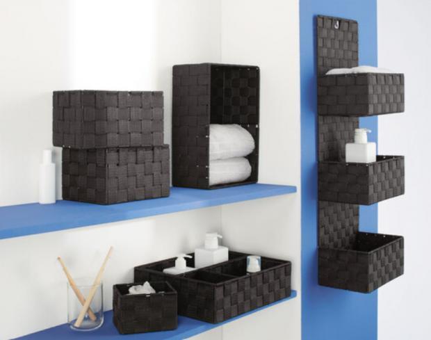Penarth Times: Livarno Living Bathroom Storage Baskets. (Lidl)