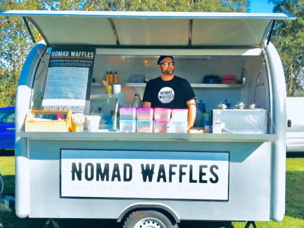 Penarth Times: Nomad Waffles - one of the traders that will be at the event.
