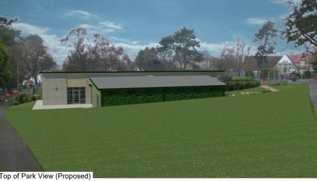 Penarth Times: Proposed design of the park area
