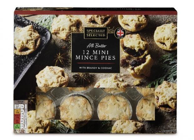 Penarth Times: Specially Selected Mini Mince Pies. (Aldi)