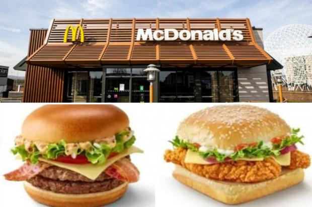 Penarth Times: Two new burgers will be making a return to the menu. (McDonald's)