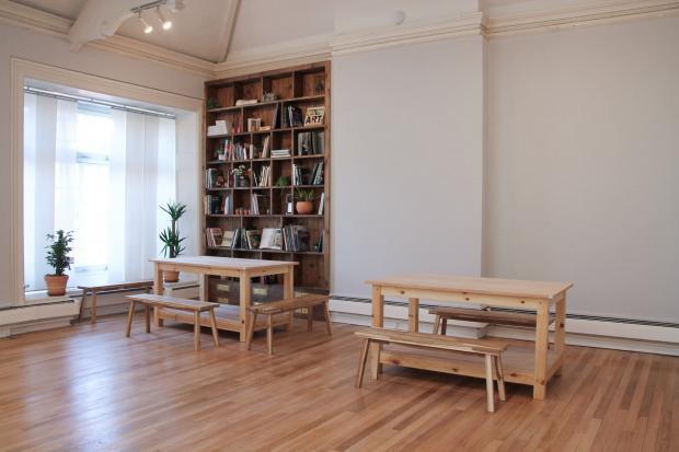 Penarth Times: Workshop space. Picture: Kate Woodward/@Tyturnerpenarth