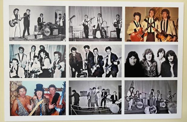 Penarth Times: The collage of pictures.
