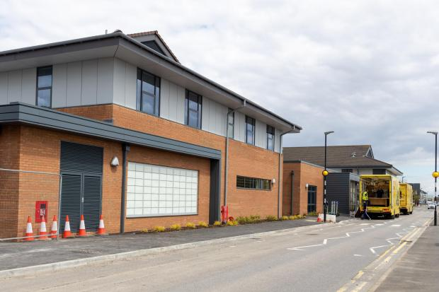 Penarth Times: The exterior of the new Neuro & Spinal Specialised Rehab Unit