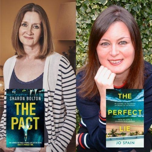 Penarth Times: Sharon Bolton & Jo Spain