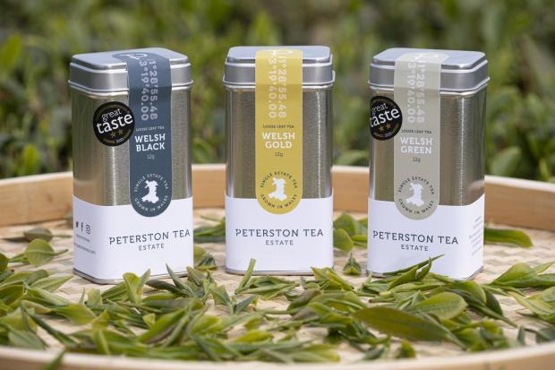 Penarth Times: The Peterston Tea Estate range