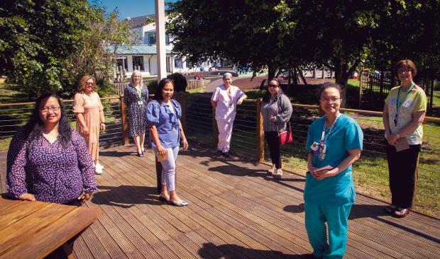 Penarth Times: Tŷ Hafan honours specialist children's palliative care nurses from the Philippines