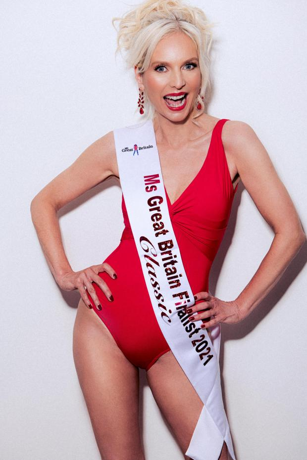 Penarth Times: GLAM: Laura White is a Miss Great Britain 2021 finalist in their new 'Classic' category