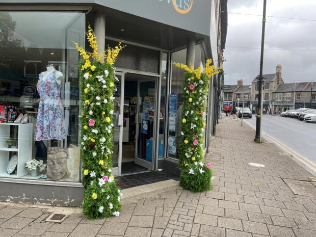 Penarth Times: This display took around a day to complete