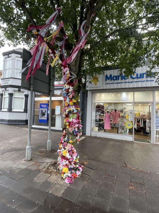 Penarth Times: This installation took over two days to complete