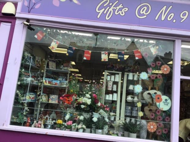 Penarth Times: Gifts @ No.9's window display