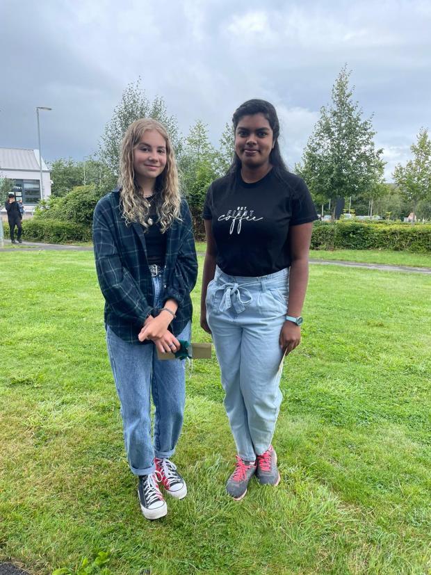 Penarth Times: Sofia England (L) and Deborah Monickam