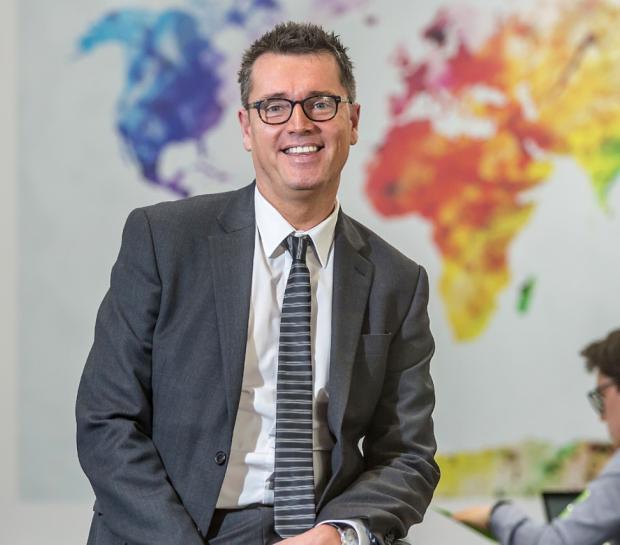 Penarth Times: Westbourne Principal, Dr. Gerard Griffiths