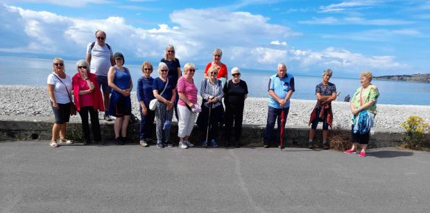 Penarth Times: Stress Buster Strollers on the beach (Picture: Valeways)