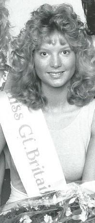 Penarth Times: THROWBACK: Laura made it into the Miss GB final in 1989