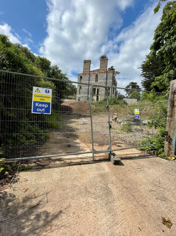 Penarth Times: What Normandy House currently looks like.