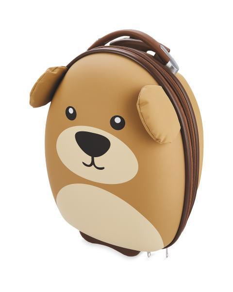 Penarth Times: Kids' 3D Bear Suitcase (Aldi)