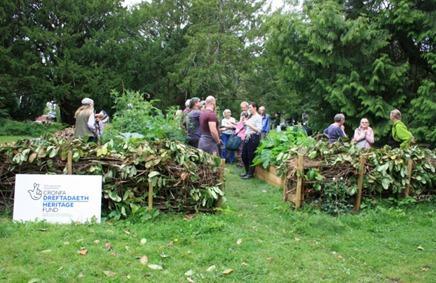 Penarth Times: The community garden at Victoria Square in Penarth