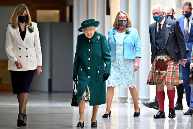 Penarth Times: The Queen at the opening of Scottish Parliament last month. Credit: Andrew Milligan, PA
