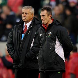 Penarth Times: Rob Howley (right)