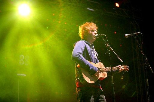 Penarth Times: Ed Sheeran at Camp Bestival by Mike Burnell