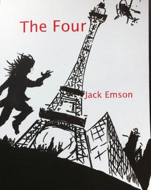 THE FOUR: Local writer Mark Frost, or Jack Emson as he is known in literary circles, has penned a children's adventure story.