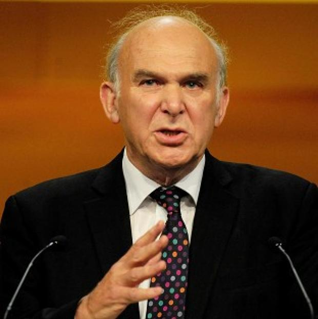 Vince Cable is to pledge to boost British industry in a speech to the Lib Dem conference