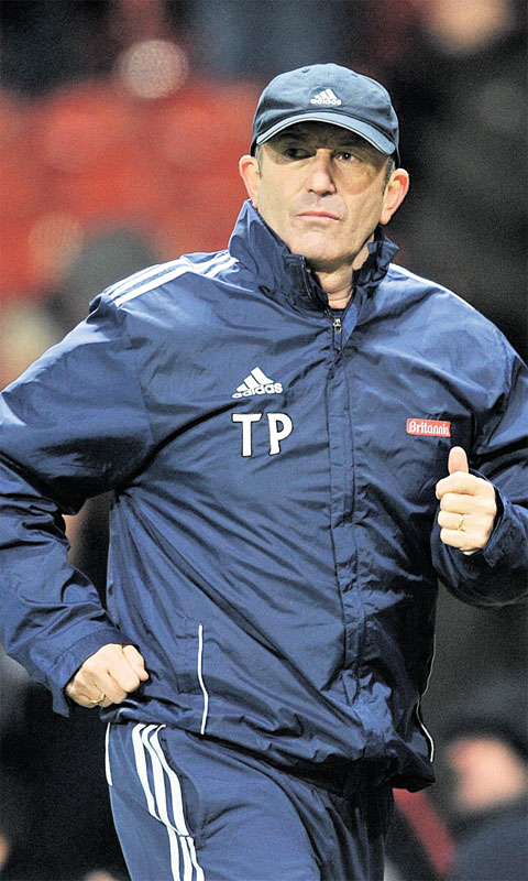 MEMORIES: Crystal Palace manager Tony Pulis