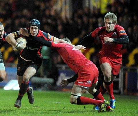 Newport's Adam Hughes earns Exeter deal