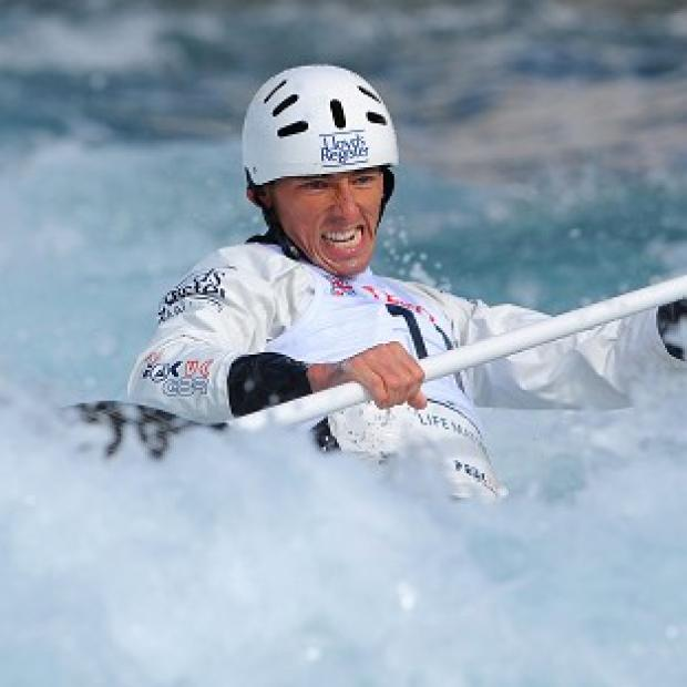 David Florence took gold in C1 and C2