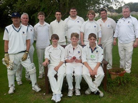 Dinas Powys CC 3rd XI, away at Monkswood on Sunday.