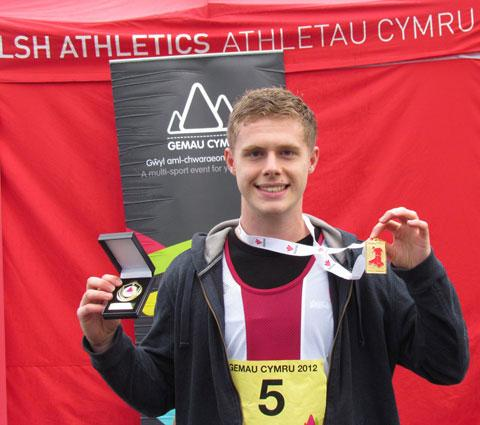 SELECTED: Matt competed in the Welsh Inter-Regional Championships where he won a gold medal in the discus and silver medals in the hammer and javelin.