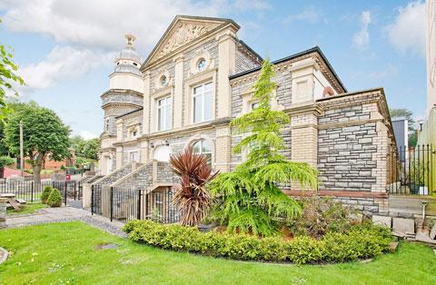 FOR SALE: The Waverley house on the former site of the Victorian Municipal Baths.