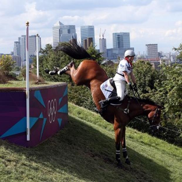 Zara Phillips produced a clear round in the cross country