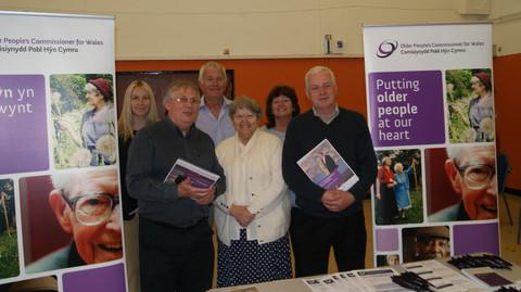 INFORMATION DAY: (l-r) Kelly Davies, John Fanshaw, Keith Hatton, Rene Gannon, Angela Cambell, Chris Franks.