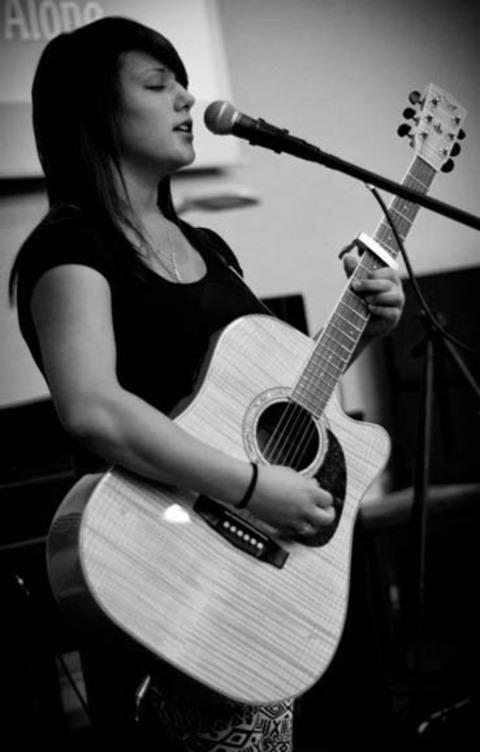 GUITAR: Gabriella Urvano will be performing at the concert.