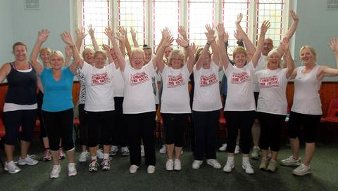Penarth boot camp raises more than £1700 for Marie Curie: Now you can get involved
