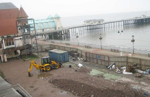 ON HOLD: The site as it is today, two years since demolition work started and five years after planning permission was first granted.