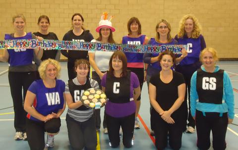HAPPY BIRTHDAY: The Penarth Ladies Veteran Club