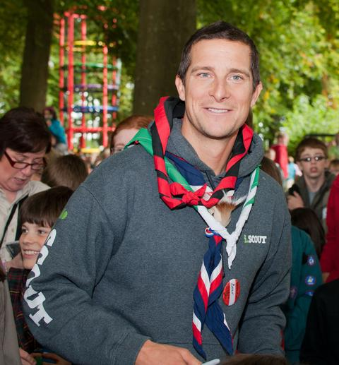 ADVENTURE: Bear Grylls, UK Chief Scout