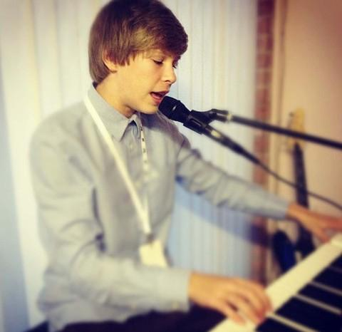 FINALIST: Singer/songwriter Lewis Campbell from Penarth.