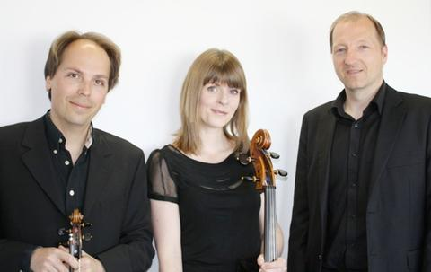 CONCERT: BBC National Orchestra members Nicolas White, Kathryn Harris and Chris Williams.