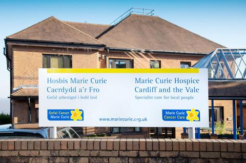 Penarth Times: ALL CHANGE: The newly refurbished Marie Curie Hospice in Penarth opened this week - complete with a new name.